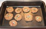 Cookies antes de irem para o forno