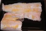 File de peixe com alho