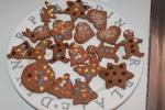 Cookies depois de assados