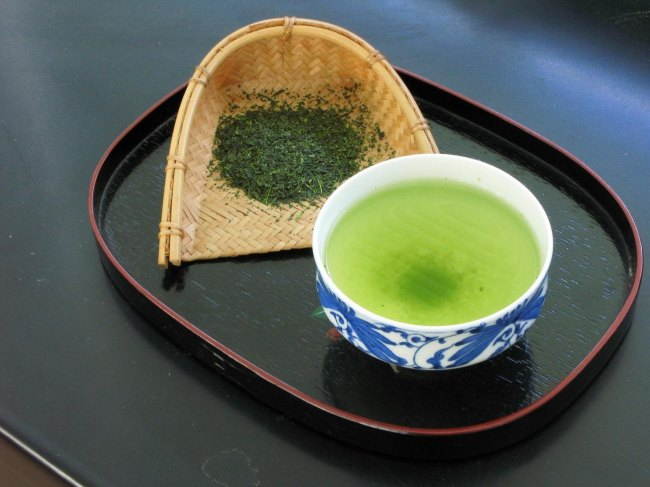 Chá verde no Japão